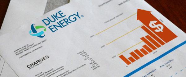 Duke Energy bill mockup