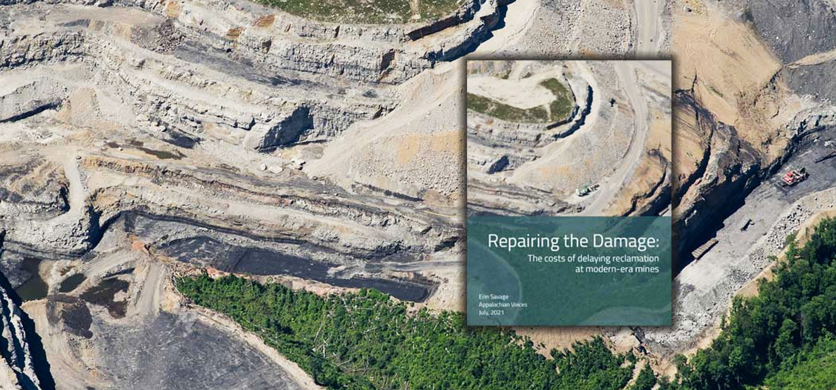 mountaintop removal damage and report cover